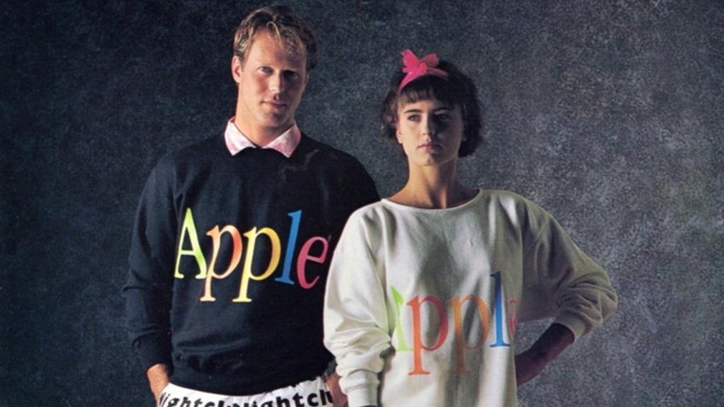 Quand Apple commercialisait des (i)vêtements et des (i)planches à voile !