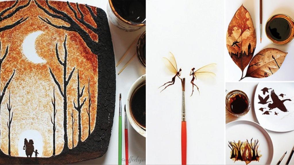 Les peintures caféinées de Ghidaq al-Nizar