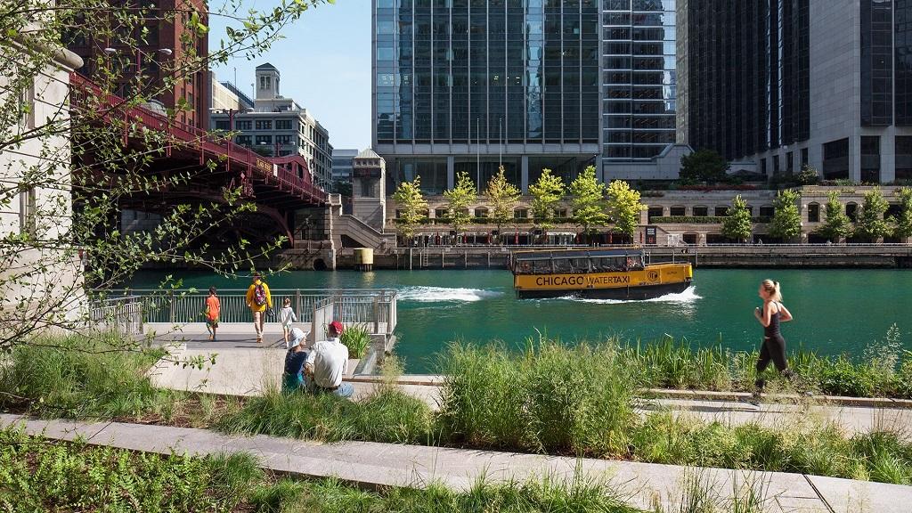 Les habitants de Chicago pourront nager dans leur rivière en 2040