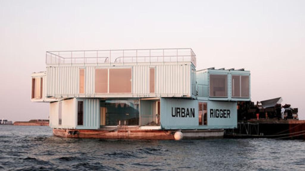 À Copenhague, les étudiants vivent sur l'eau