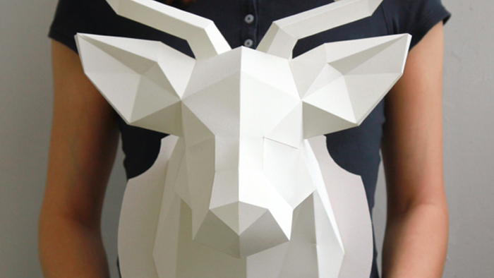 Idée cadeau de dernière minute : L'origami grand format DIY