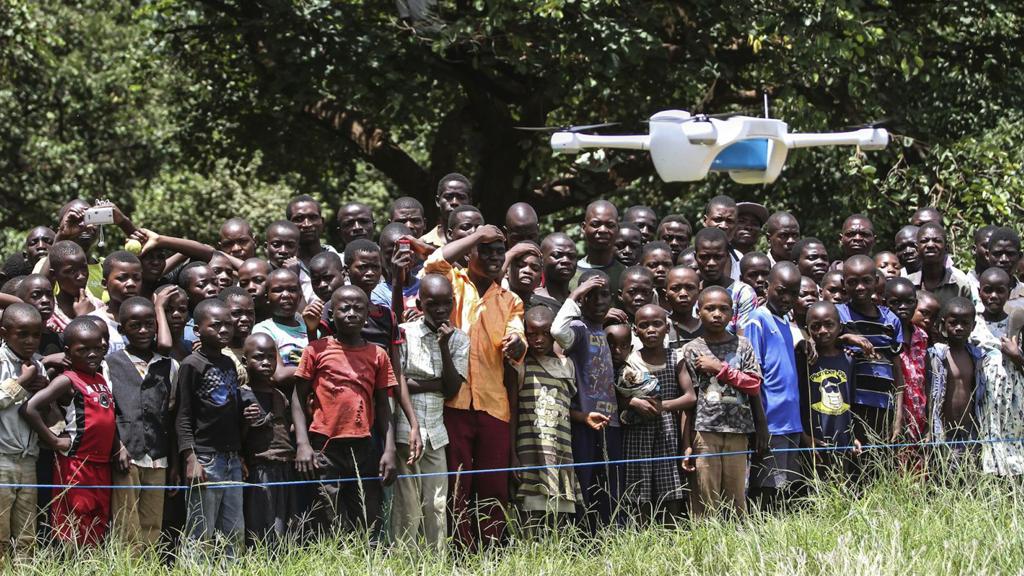 Des drones contre le sida en Afrique