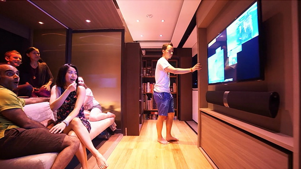 Le foyer magique de Hong Kong