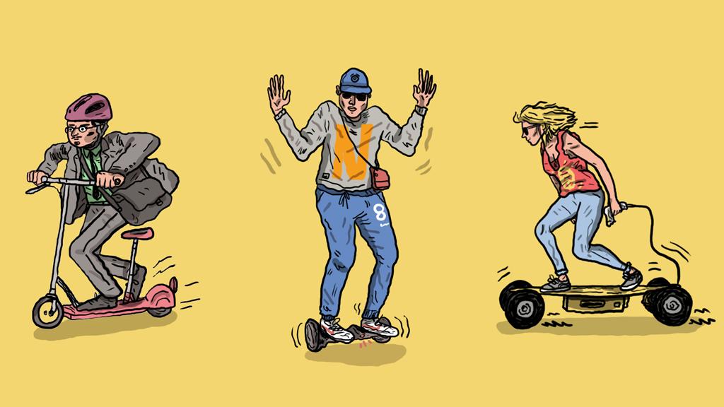 Quelle tenue pour rouler en Hoverboard, Onewheel, Segway ?