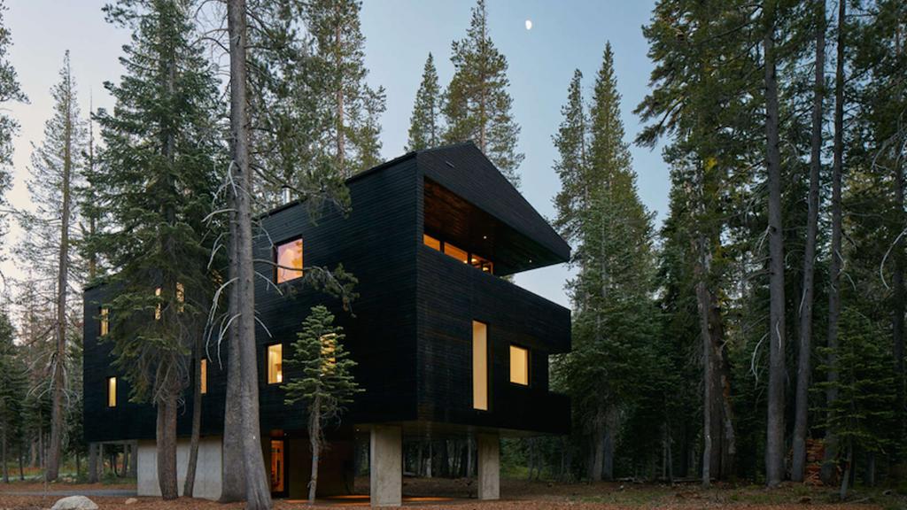 Des architectes ont rapporté l'hiver en Californie