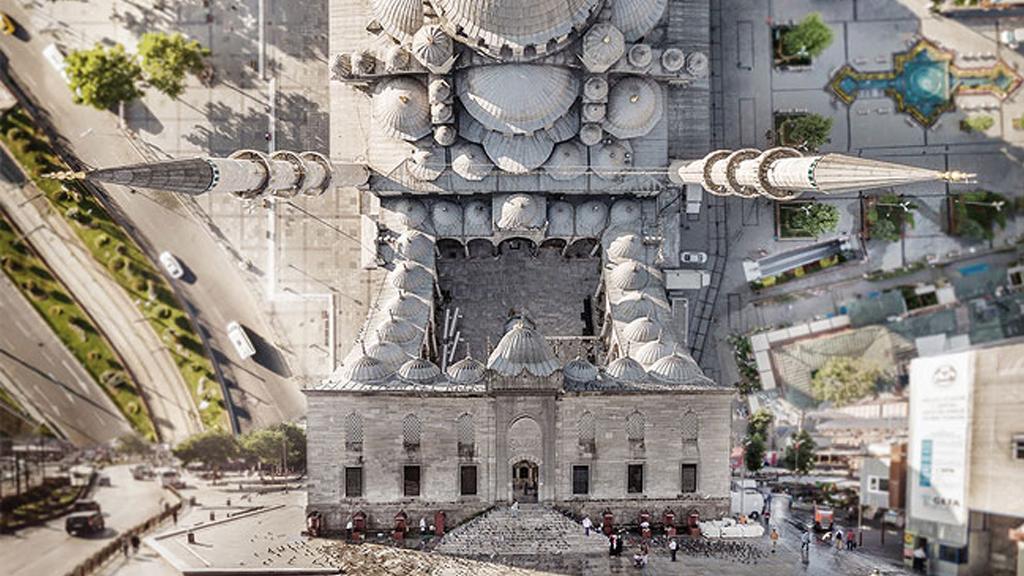 Istanbul Inception, une Turquie surréaliste vue du ciel