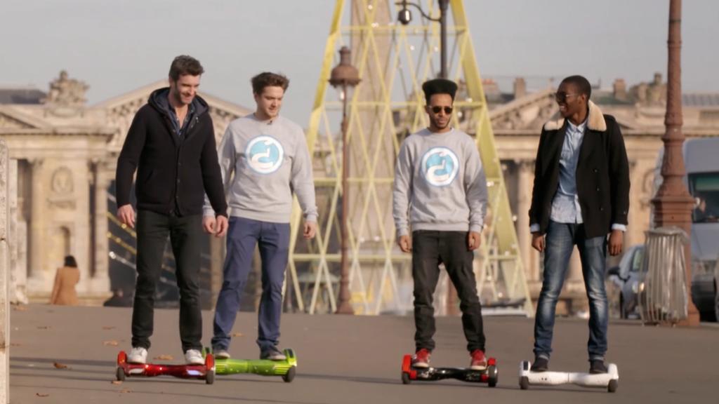 Détours - Randonnée urbaine et sport sur béton avec l'Insolite Board !