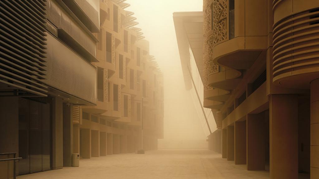 Masdar City, une incroyable ville utopiste au coeur du désert