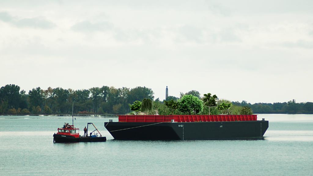 A New York, ce potager flottant est une utopie écologique