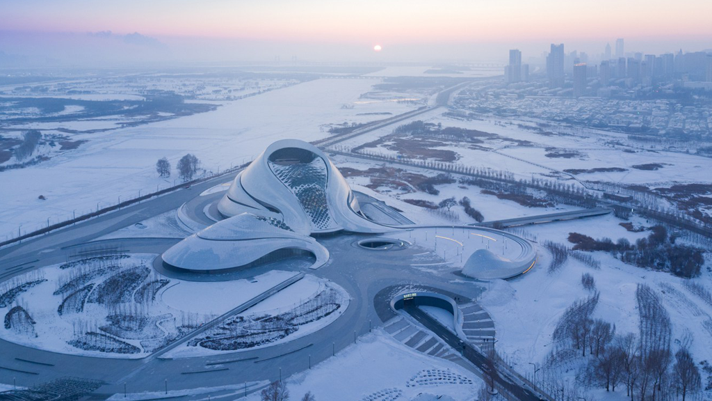 L'opéra futuriste de la Chine