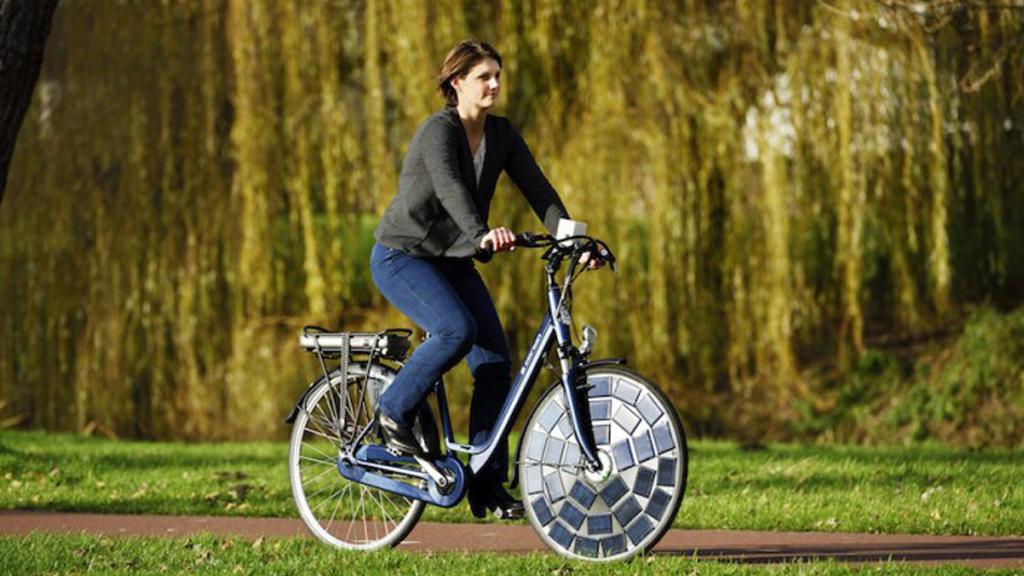 Nos futurs vélos fonctionneront à l'énergie solaire