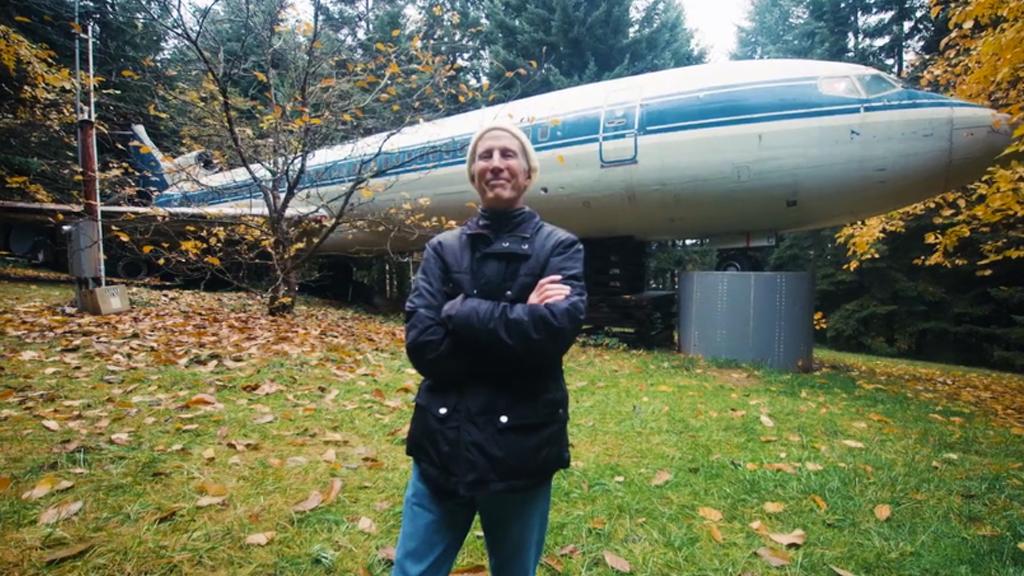 Et si vous construisiez votre maison dans un avion ?