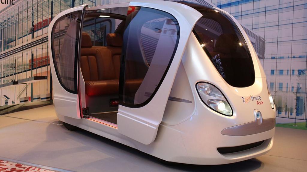 Le Pod : tramway futuriste ?