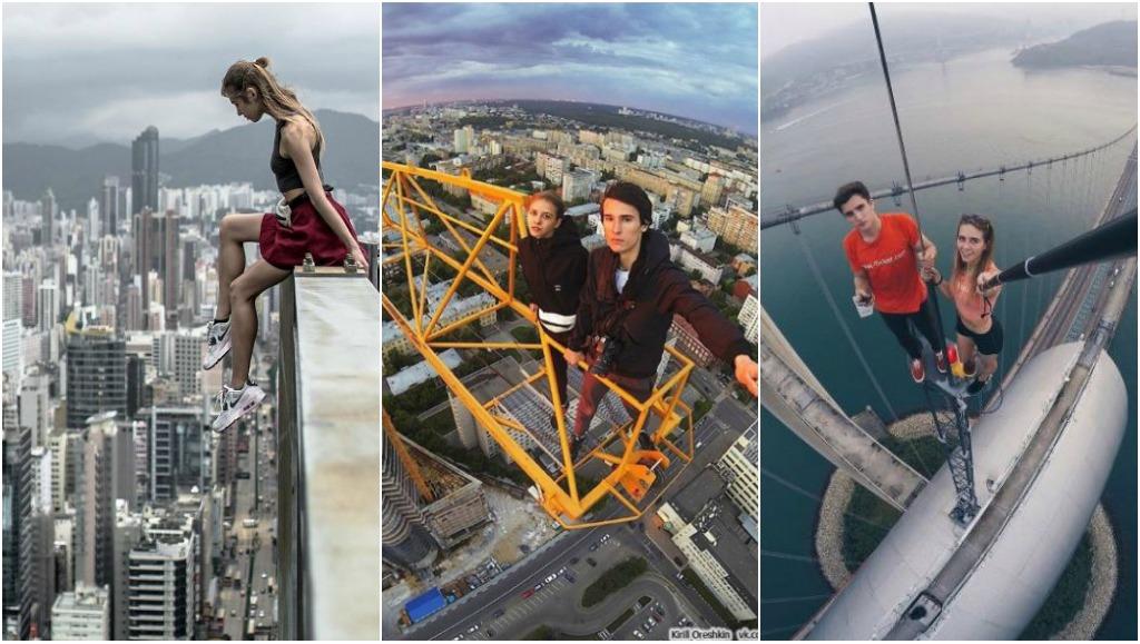 Ce couple russe escalade les gratte-ciel du monde entier