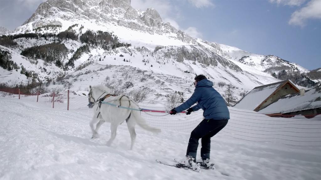 Détours – En Skijoering, devenez un cow-boy montagnard !