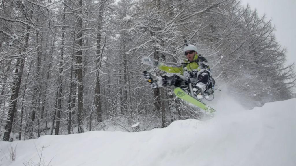 Mi-ski mi-luge, tout schuss avec le Snooc !