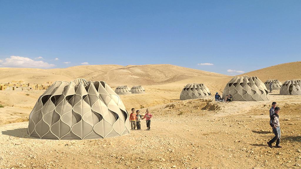Les peuples nomades vivent dans des tentes indestructibles
