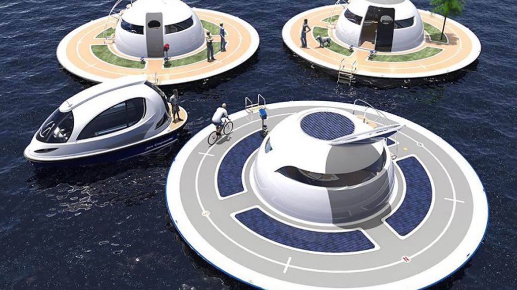 Croisière futuriste en OVNI des mers