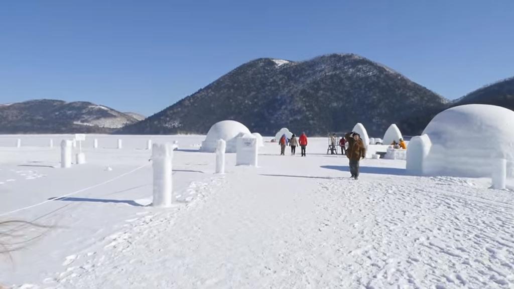 Partez à la découverte du village de glace du Japon !