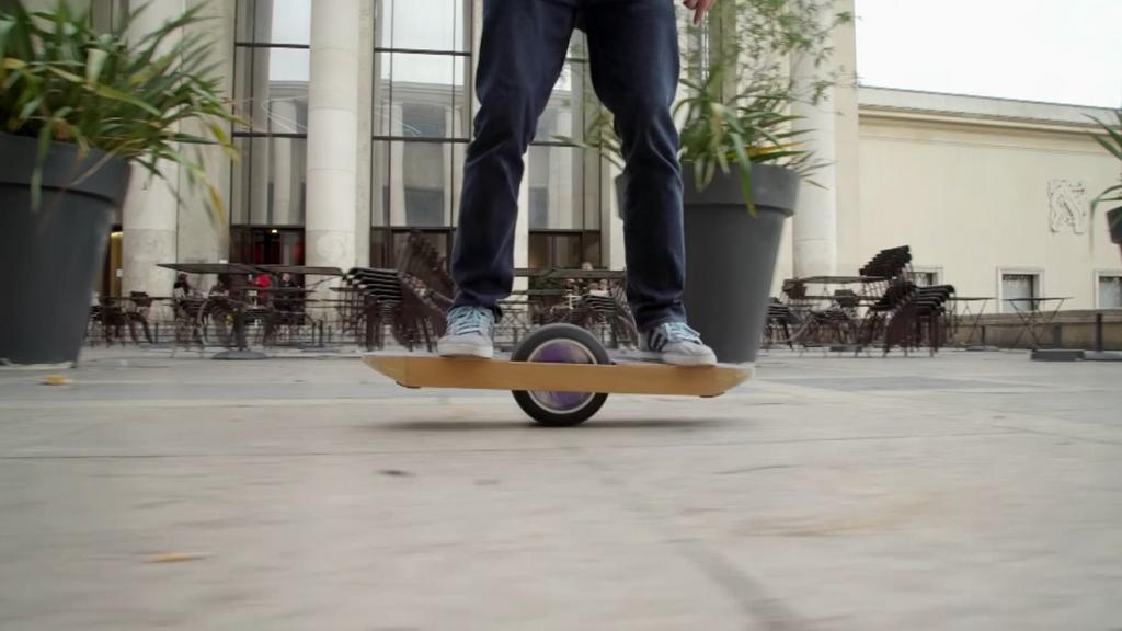 Et si nos pieds se transformaient en roue ?