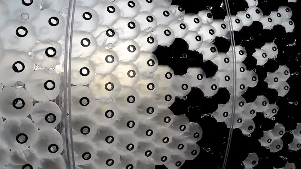 Le mur en ballon, système de climatisation en devenir