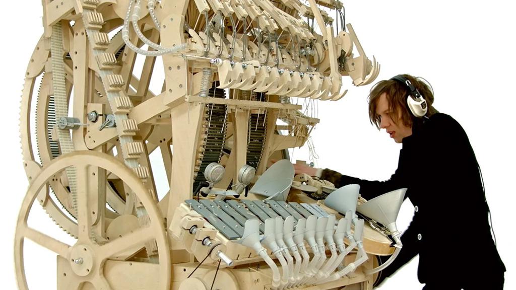 Le multi-instrument improbable de Martin Molin