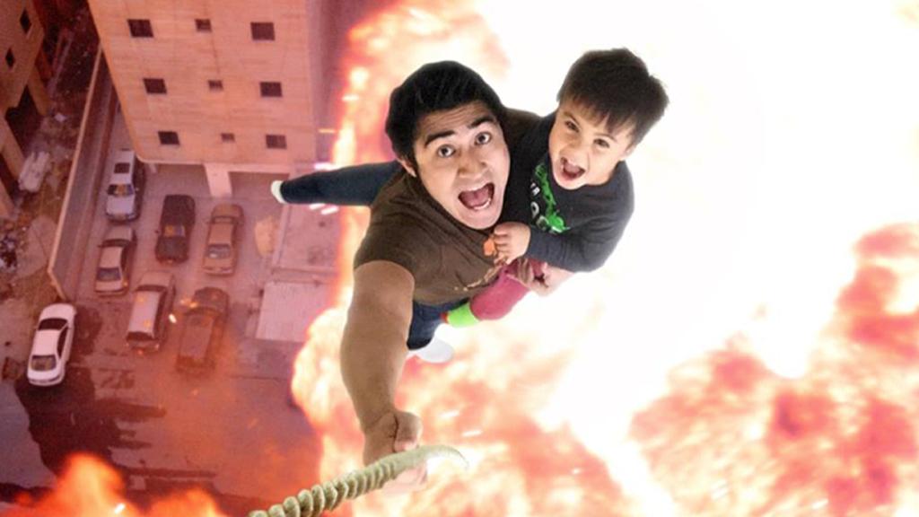 Un père et son fils vont devenir les futures stars de YouTube