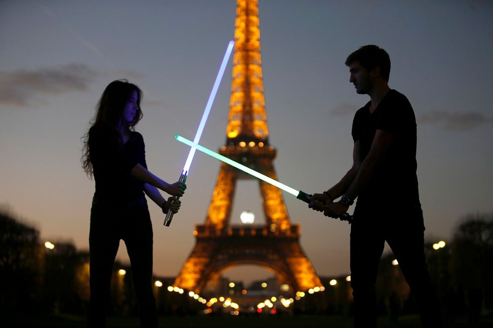 On a trouvé le sport le plus WTF du monde : le sabre laser