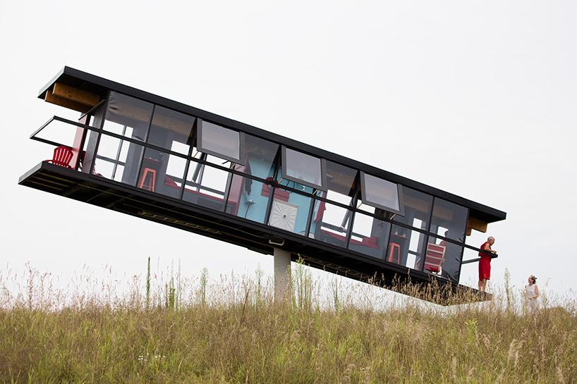ReActor, la maison qui bouge avec le vent