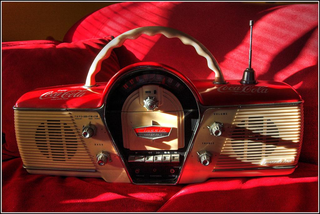 La radio qui tourne à l'huile de palme