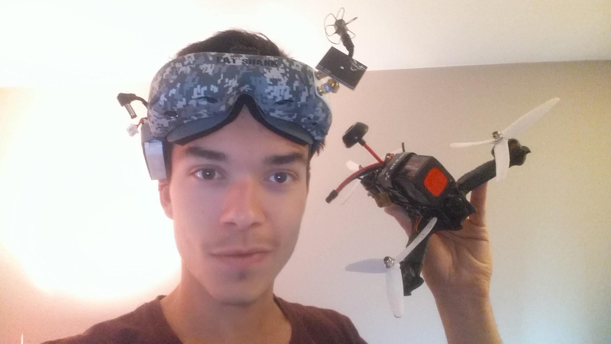 Antonin Bouyeure : baby droner