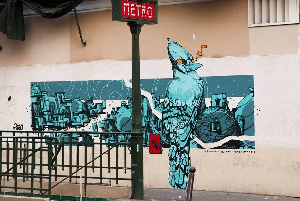 Art Station, le mouvement qui veut remplacer les pubs du métro par du street art