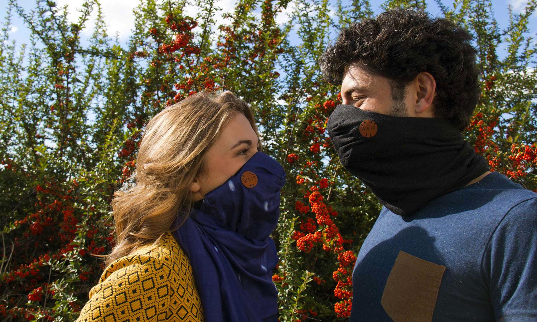 WAIR : le masque anti-pollution en mode cowboy