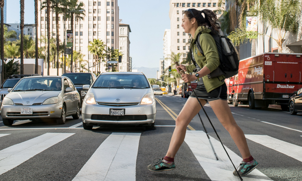 Los Angeles veut protéger les piétons, et c'est un exemple à suivre