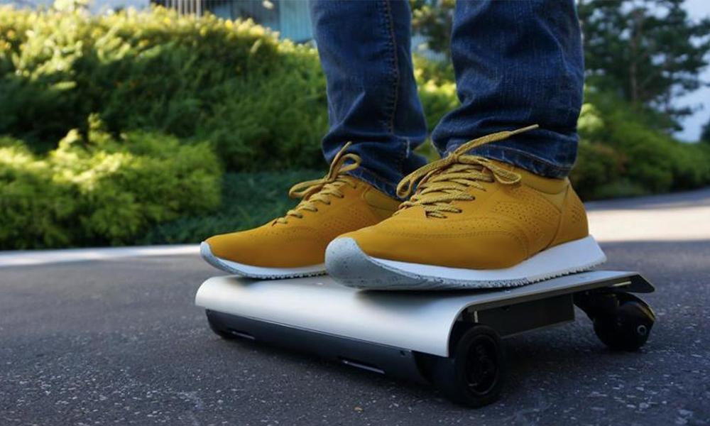 Walkcar, le plus petit mode de transport au monde