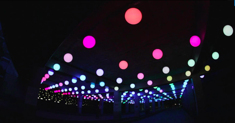 Grâce aux LED de Digitalarti, la lumière devient intelligente… et artistique