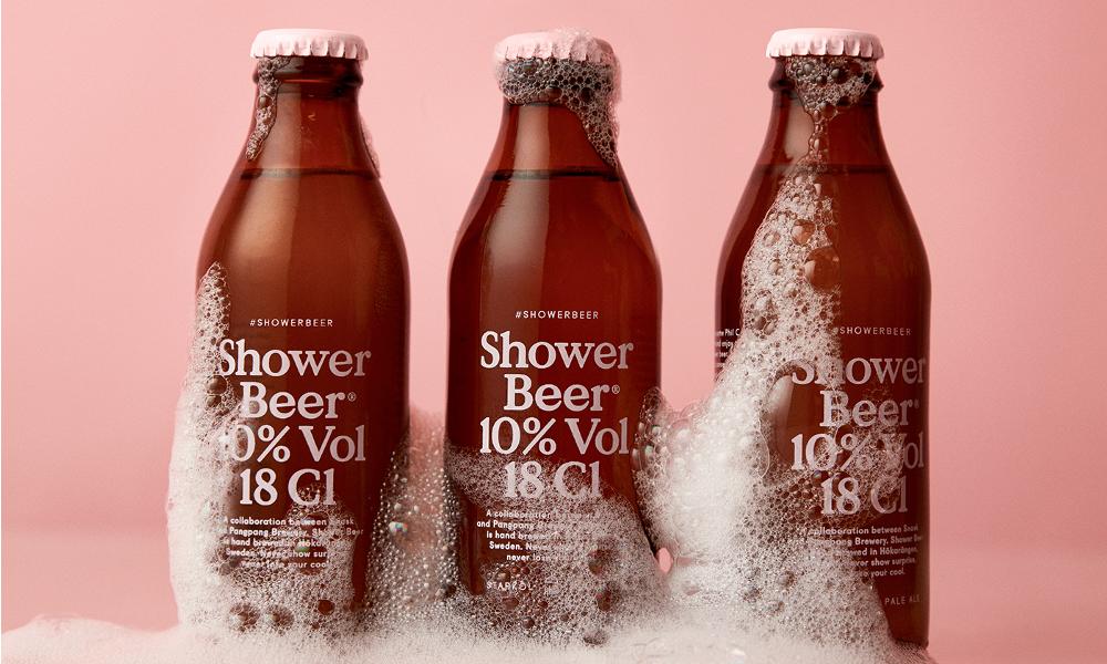 Une bière à la fraîche ? Buvez-la sous la douche !