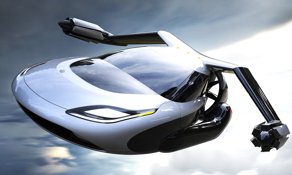 Nom de Zeus, la voiture volante TF-X devrait décoller dès 2018 !