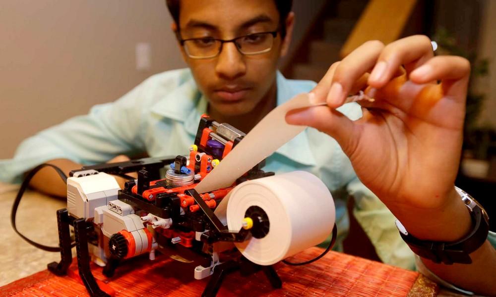 Une imprimante pour aveugles à moins de 500 briques... de LEGO