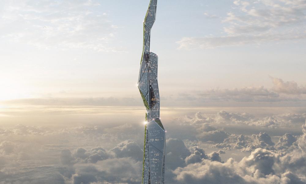 Aussi haut que le Mont Blanc, ce gratte-ciel pourrait purifier l'air