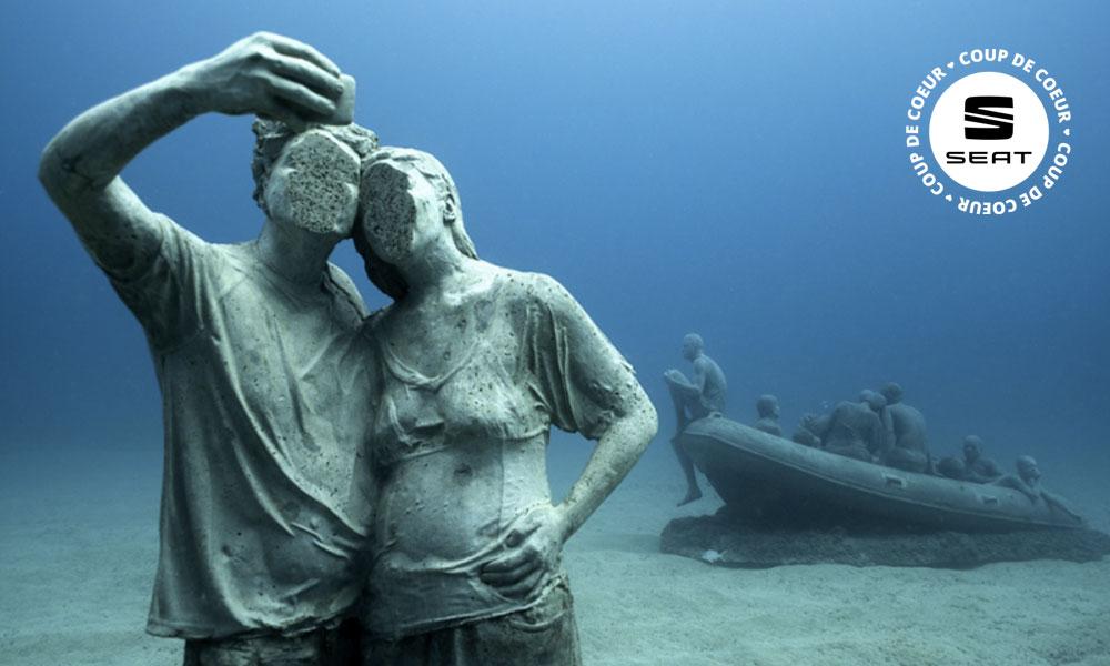 Le premier musée sous-marin d'Europe vient d'ouvrir en Espagne