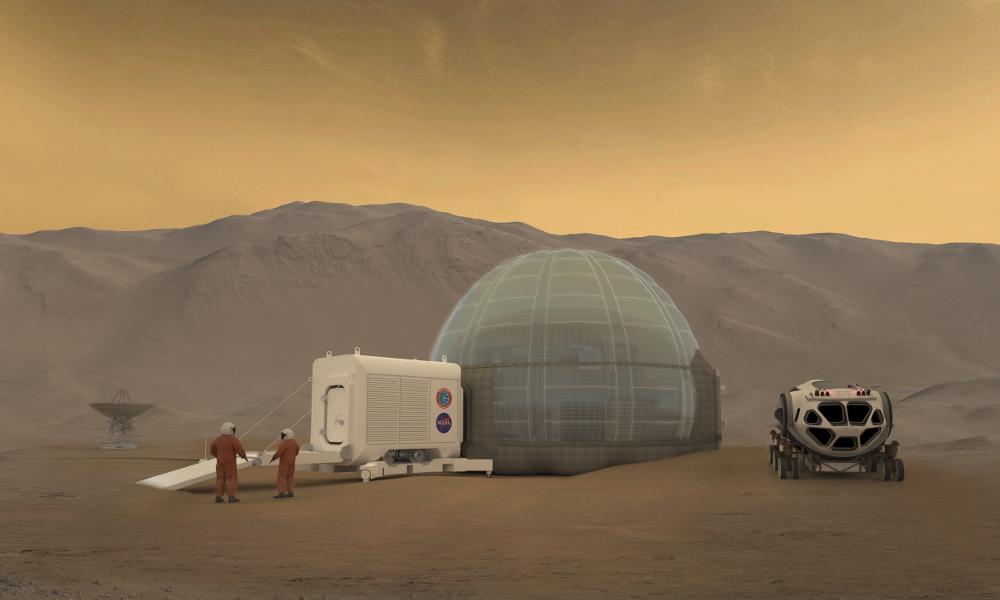 L'igloo, ce logement qui va faire fureur sur Mars