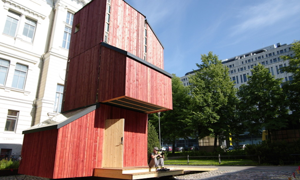 Besoin d'une maison en bois en 24H ? Le Kokoon relève le défi