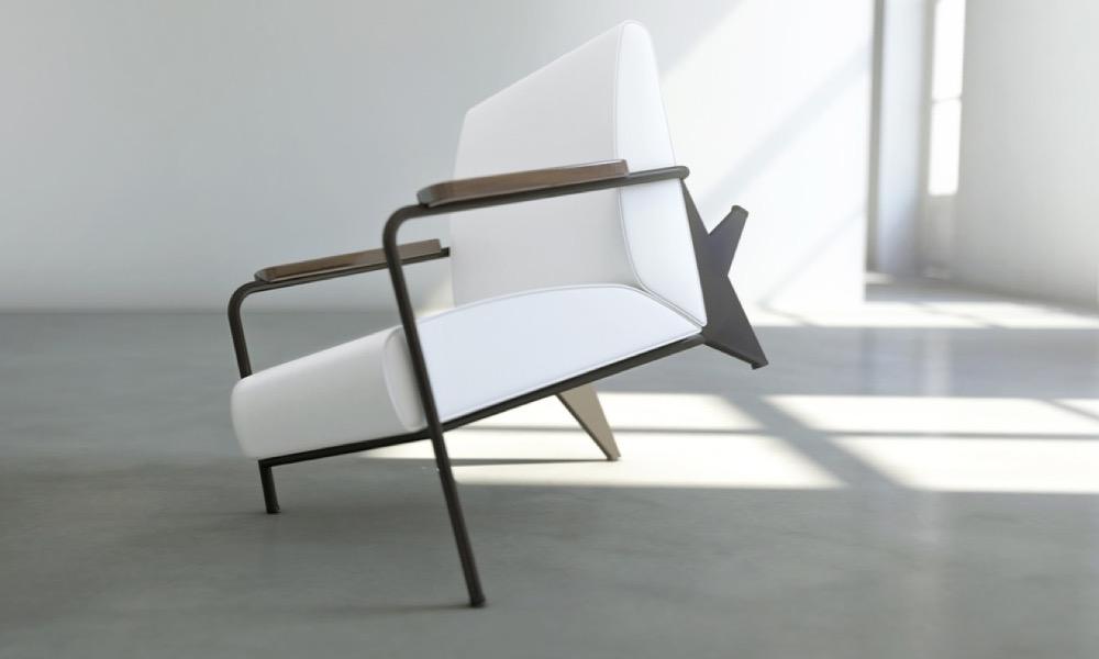 Rendre le mobilier inconfortable, c'est aussi un art