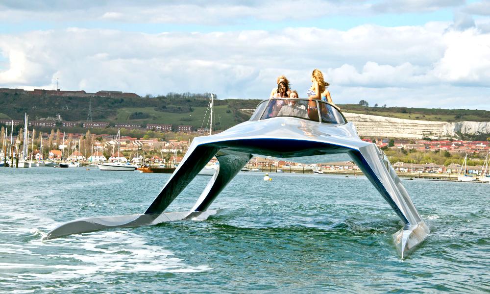Plus qu'un Yacht, un monument de design