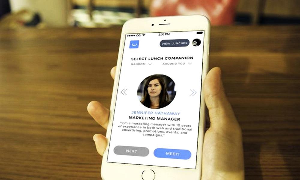 Retrouvez l'appétit entre collègues, avec une bonne app'