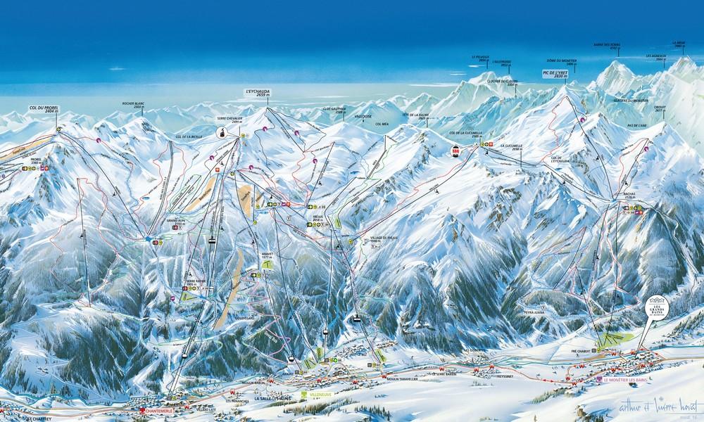 Arrêtez de skier : la plus belle piste est sur ce plan