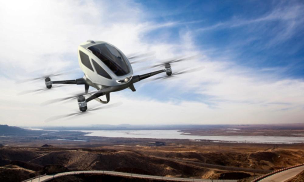 Des taxis volants sans pilote à Dubaï? YOLO.