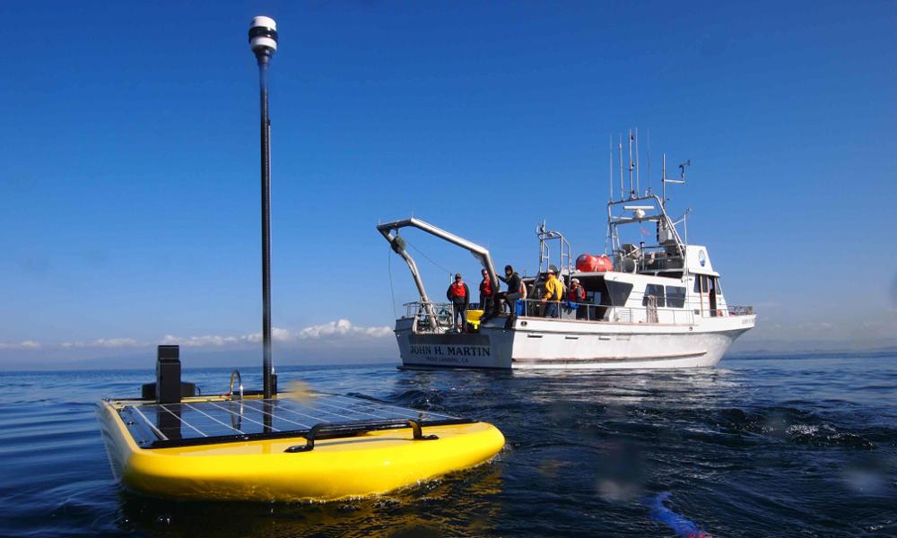 Un petit robot jaune qui va calmer les gros tsunamis