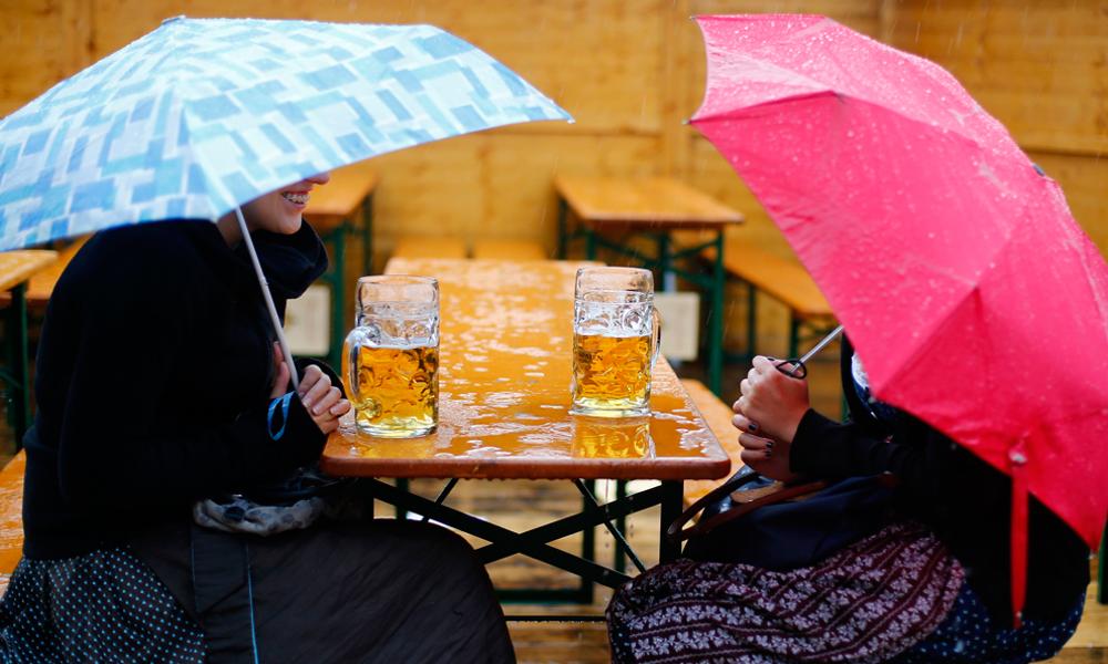 Une bière brassée à l'eau de pluie, ça vous dit ?